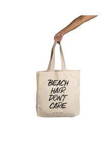 Beach Hair Don't Care Tote (Cotton Canvas, 14x14