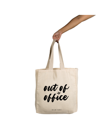Out Of Office Tote (Cotton Canvas, 14x14
