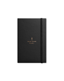 Blah Journal with Elastic Band (Unruled, 90GSM, A5, 120 Pages)