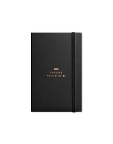 Possibilities Journal with Elastic  Band (Unruled, 90GSM, A5, 120 Pages)