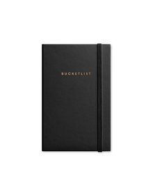 Bucketlist Journal With Elastic Band (Unruled, 90GSM, A5, 120 Pages)