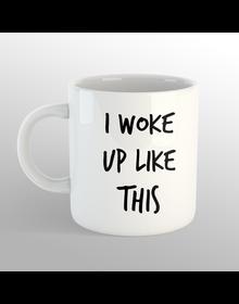 woke up MUG