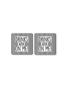 Drinks Drinks Coaster