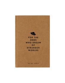 Stranger Notebook  (Unruled, 90GSM, A5, 120 Pages)
