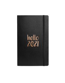 2021 Journal with Elastic Band (Unruled, 90GSM, A5, 120 Pages)