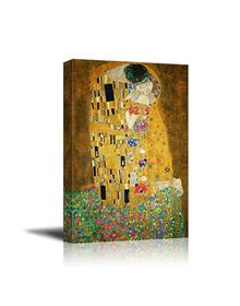 The Kiss by Gustav Klimt (Canvas, Digital Printed) Size: 40 cm x 30 cm