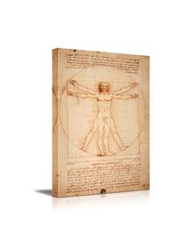 The Man by Leonardo Da Vinci (Canvas, Digital Printed) Size: 40 cm x 30 cm