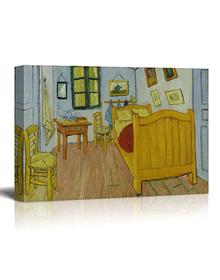 Van Gogh's bedroom in Arles (Canvas, Digital Printed) Size: 30 cm x 40 cm