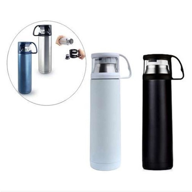 Stainless Steel Flask - 500ml-DW28Offwhite
