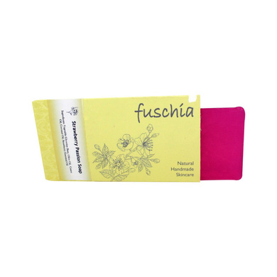 Fuschia - Strawberry Passion Natural Handmade Glycerine Soap-Strawberry Passion