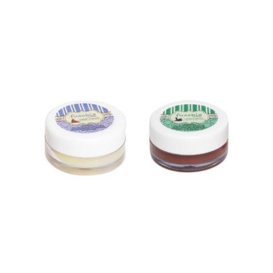 Fuschia – Caramel & Choco Butter Lip Balm Combo-Caramel&Chocobutter