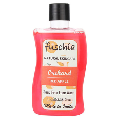 Fuschia Orchard Red Apple Soap Free Face Wash-VKB0179
