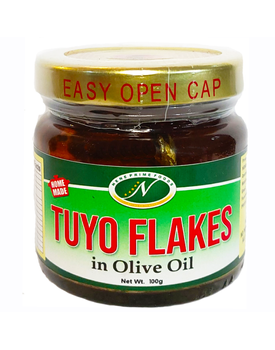 Tuyo Flakes in Olive Oil