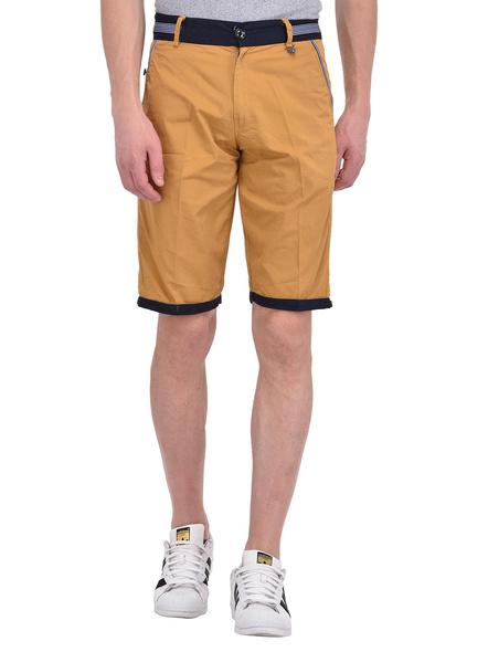 Mens Cotton Designer Bermuda Shorts-11-S