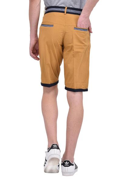 Mens Cotton Designer Bermuda Shorts-M-1