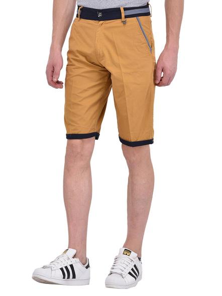 Mens Cotton Designer Bermuda Shorts-M-2