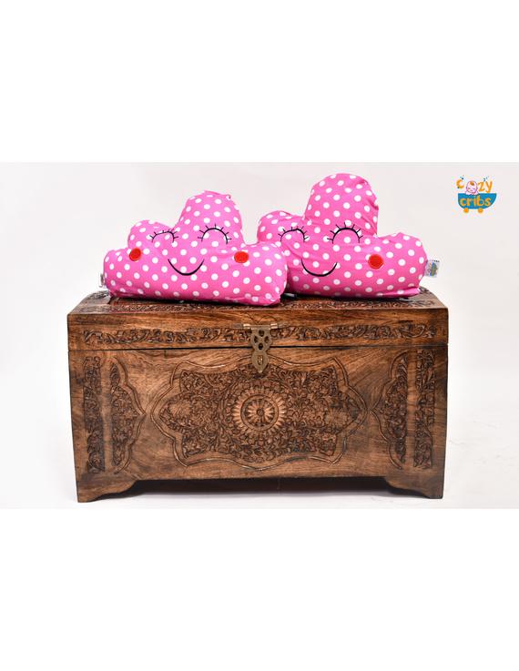 Pink Blocks Cushion-CS0019