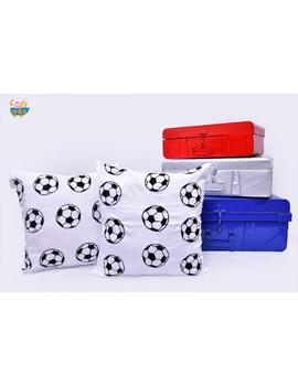 Football Cushion-CS0050-Black-sm