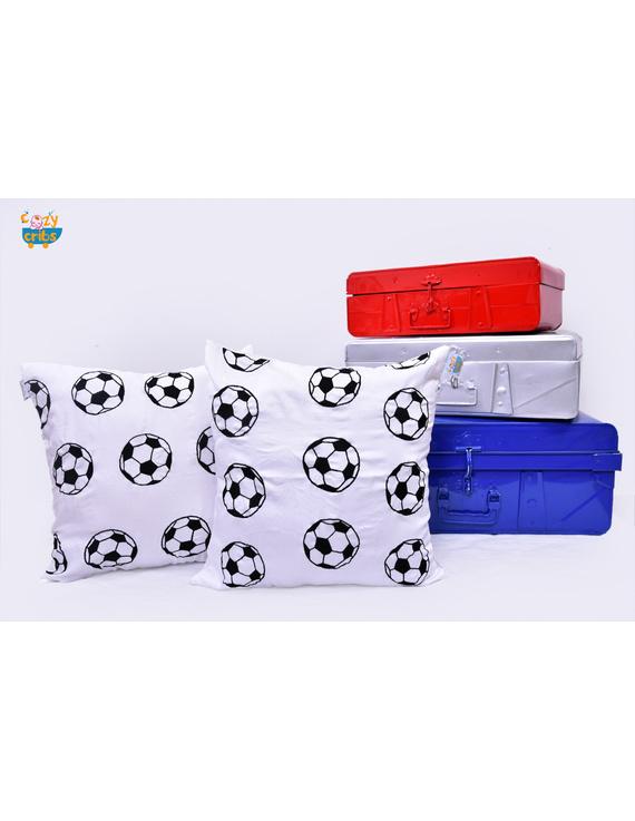 Football Cushion-CS0050-Black