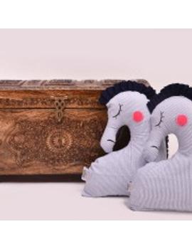 Sea Horse Cushion (Custom) Pack of : 1 Piece-1-sm