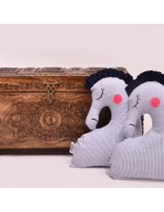 Sea Horse Cushion (Custom) Pack of : 1 Piece-1