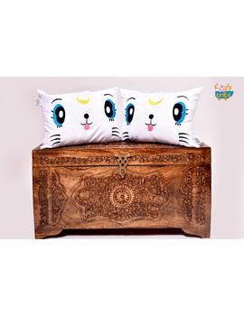 Felix The Cute Cat Cushion (Custom)-1-sm