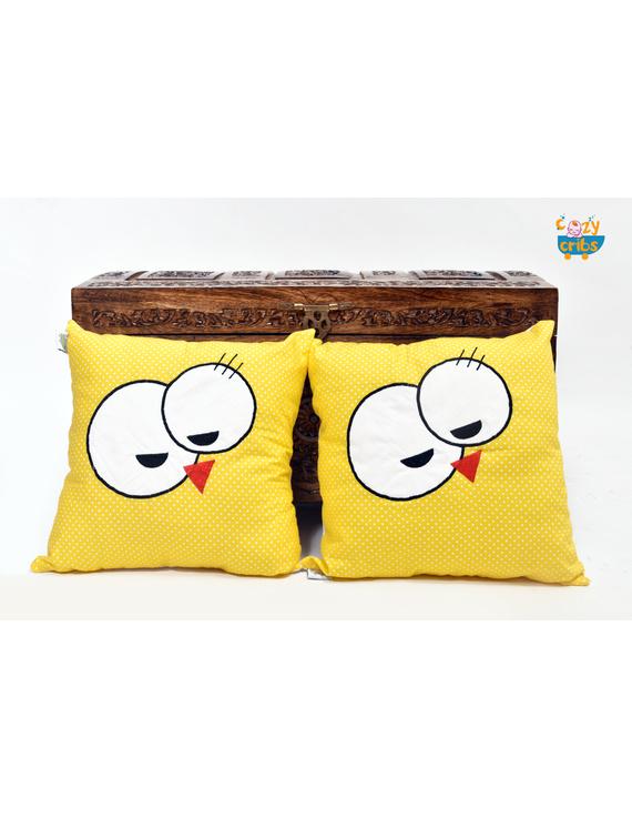 My Name Is Tikle Cushion (Custom) Pack of : 1 Piece-CS0024CUS