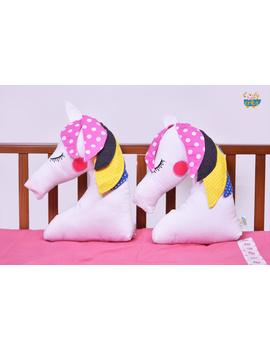 Unicorn Cushion (Custom) Pack of : 1 Piece-CS0036CUS-sm