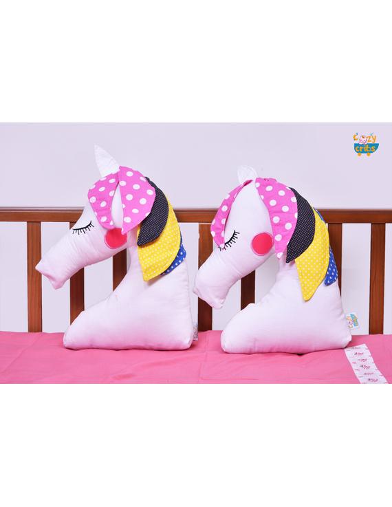 Unicorn Cushion (Custom) Pack of : 1 Piece-CS0036CUS