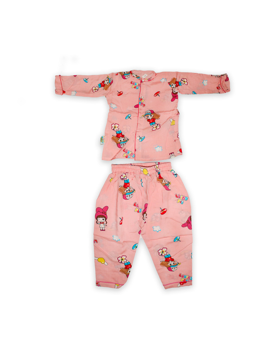 Doll Night Suit-NS003-3-4Years