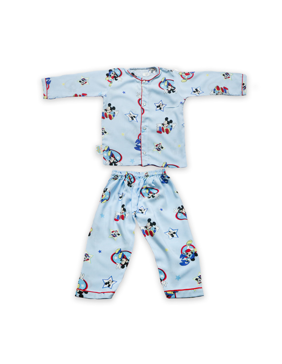 Mickey Night Suit-NS004-3-4Years