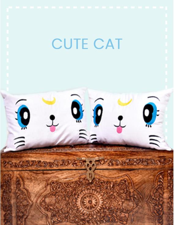 Felix The Cute Cat Cushion-CS0023