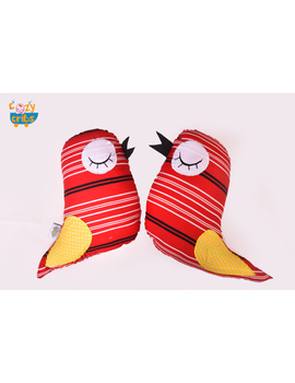 Red-The Angry Bird Cushion-CS0006-sm