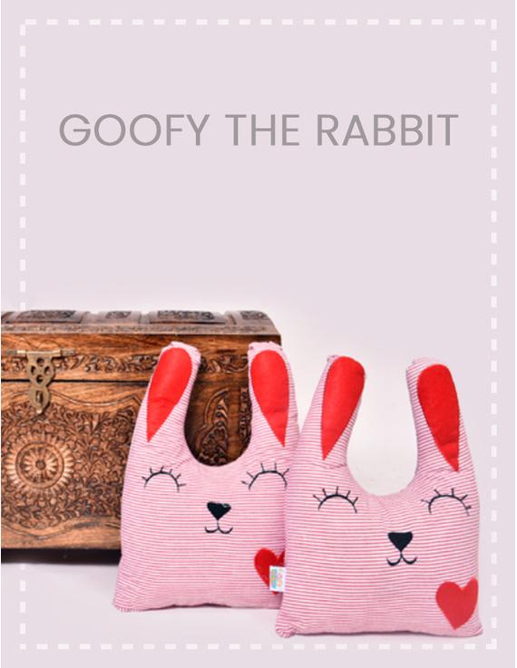 Goofy The Rabbit Cushion-CS0003