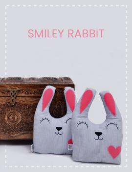 Smiley Rabbit Cushion-CS0011-sm