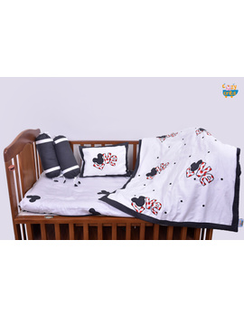 Baby Bedding  5 pieces set Love With pillow-1-sm