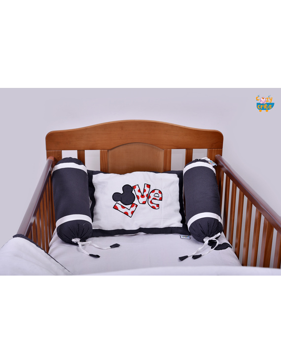 Baby Bedding  5 pieces set Love With pillow-2