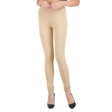 Spiffy Churidar Leggings Beige-Beige-XL-1