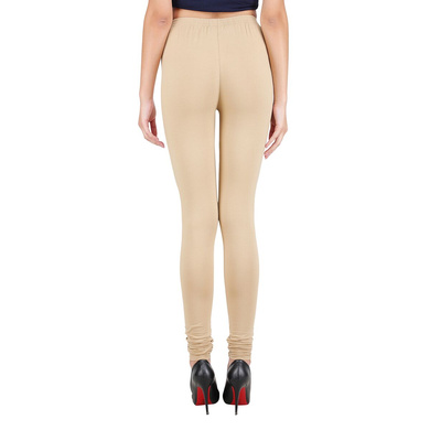 Spiffy Churidar Leggings Beige-Beige-XL-2