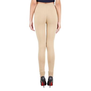 Spiffy Churidar Leggings Beige-3XL-Beige-2