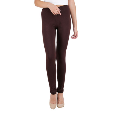 Spiffy Churidar Leggings Brown-Brown-M-1