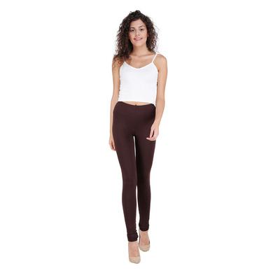 Spiffy Churidar Leggings Brown-LEG02DBrown-2XL