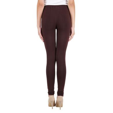 Spiffy Churidar Leggings Brown-Brown-4XL-2