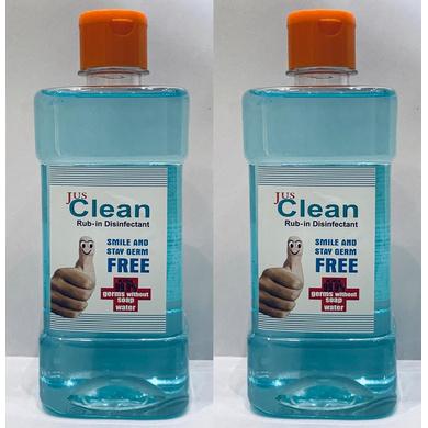 Jus  Clean Hand Sanitizer 500 ml-SKU-J500SANT2