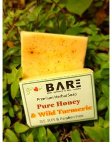 Honey Turmeric Soap (90gm+)