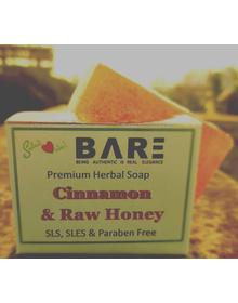 Honey Cinnamon Soap (90gm+)