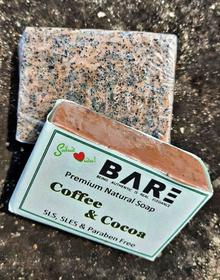 Coffee & Cocoa Soap (90gm+)