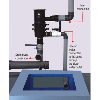 Rainy Rainwater Harvesting Filter FL-500-3
