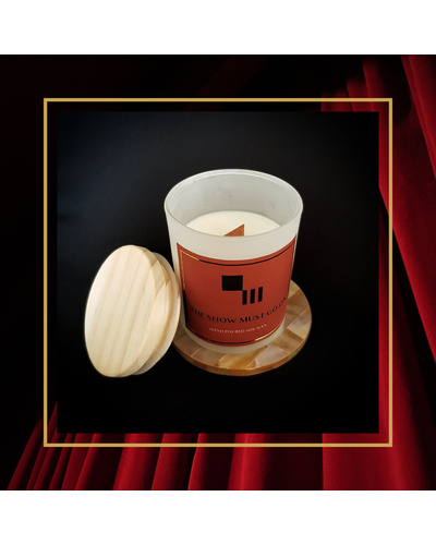 The Show Must Go On Soy Candle-SC-03