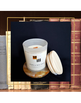 Turn A New Page Soy Candle